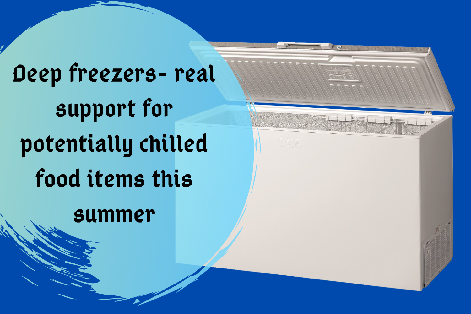 Haier and Waves Deep Freezer